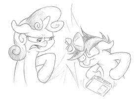 Quick Sketch Request: Pay Attention by Smashedatoms