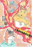 [Comic] Burning Crossroads - cover by Danilofanzineiro