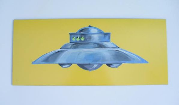 Adamski UFO Flying Saucer by Wilheml