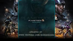 Planetside 2 - YouTube Background by MiniDudeMD
