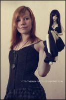 A doll and me by yenna-photo