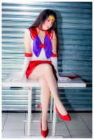 Sailor Mars Cosplay Hot to Hot by konohanauzumaki