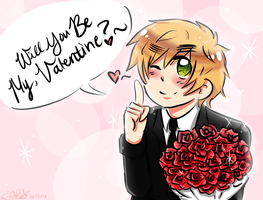 [APH] Will You Be My Valentine? by THE-L0LLIP0P