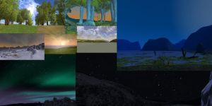Collage of Screenshots by Birdsong231