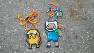 Adventure time kandi by PsychodelicPanda