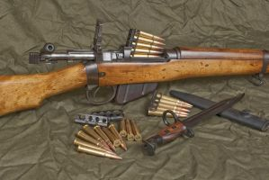 Lee Enfield .303 rifle. by AfroMatrix007