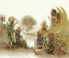 FFIX 9th anniversary by sumi0060
