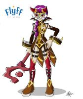 flyff: psykeeper female by himiko