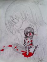 Alice of Human Sacrifice- 1st Alice by ShimmerTheVampfox