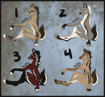 Deer Anthro Adopts [0/4] by wyomingcrazy101
