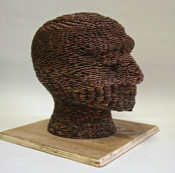 penny sculpture by LordArnebus