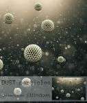 Dust particles screensaver by Leikoo