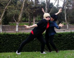 Dave Strider and John Egbert by Chia-Light