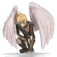 maybe i have a thing for wings by Biokun