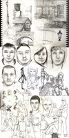 Sketchdump 2011. by Spikings