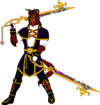 Keyblade Master Bernard LaBete by Hellboy777Kratos