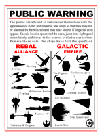 Star wars ship identification guide by THEBIONICBOI