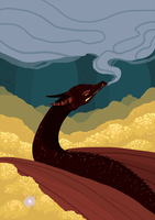 Smaug by Chigle