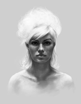 Portrait Practise by LUN2004