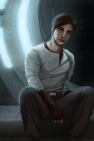 KotOR II: Atton Rand by R-Aters