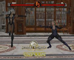 Mortal kombat vs capcom by AlbertWesker1993
