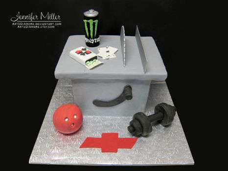 Table Saw Cake by ArteDiAmore