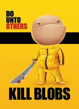 kill blobs by meawing