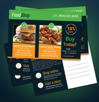 Product Promotion Postcard Free Download by adobehero