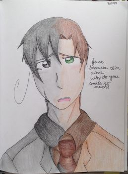 APH Romano: Self-Inflicted Achromatic by bleachlover9115
