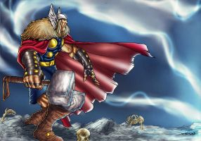 Thor by Nig-PS