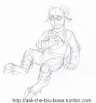 TF2 Satyre Engie sketch by The-Clockwork-Crow
