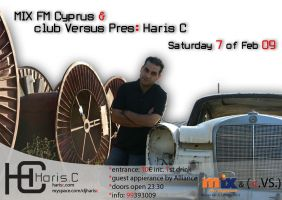 Haris C at Club Versus by giwrgos