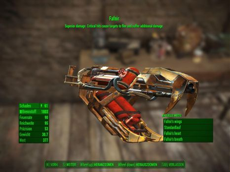 Fallout 4: The Fafnir by WarMocK