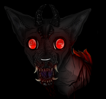Chihuahua of the devil by Templeanarue