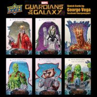 GOTG Sketch cards by shaotemp