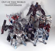 Out of this World Transformers by Unicron9