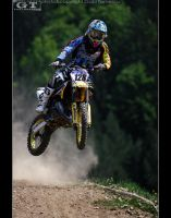 motocross jump by gtimages
