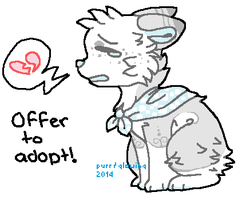 Offer To adopt - open by qlowing
