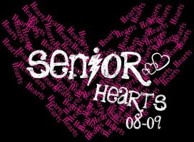 Senior Hearts Shirt Design by Almost1216