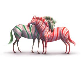 Candy Manes by manateelove
