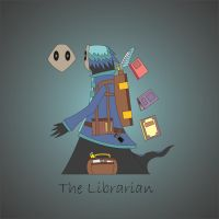 The Librarian by ASP-Ian