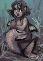 Just another mermaid by sharkie19