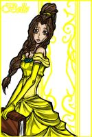 Disney- Princess Belle by Kiarou