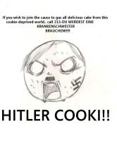 Hitler Cookie by Suirano