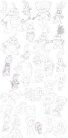 first doodle set of 2012 by Nintendrawer
