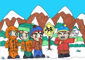my beloved south park by NOODLE101084