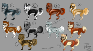 Husky adopts sheet. by AgentWhiteHawk