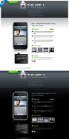 Grey iphone app web by iconnice