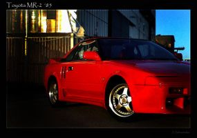 1985 Toyota MR 2 by Jna1985