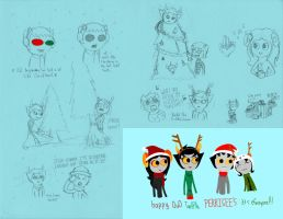 Homestuck 12th Perigees Doodles 2 by Warcry31